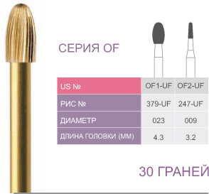 Серия OF. 30 граней